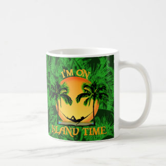 Island Time Classic White Coffee Mug