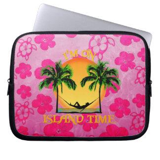 Island Time Computer Sleeve