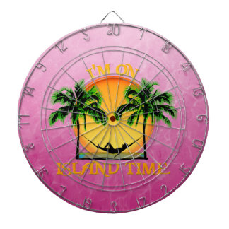 Island Time Dartboard