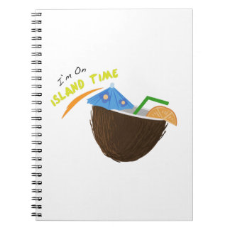 Island Time Drink Notebook
