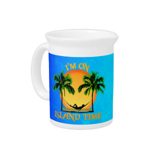 Island Time Drink Pitcher
