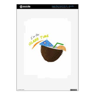 Island Time Drink iPad 3 Decal