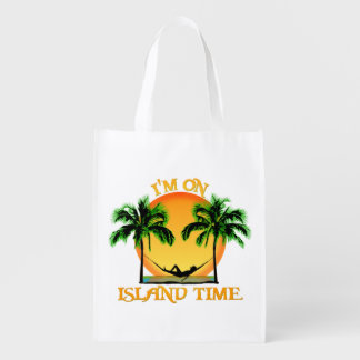 Island Time Grocery Bags