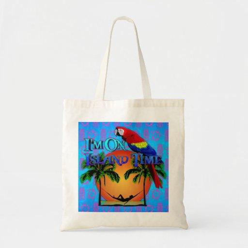 Island Time In Hammock Bag