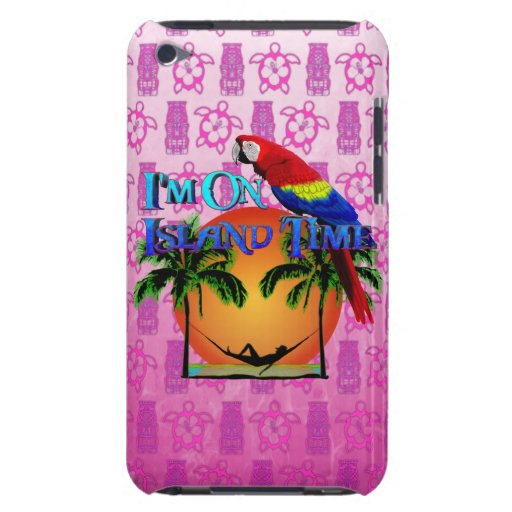 Island Time In Hammock Barely There iPod Cases