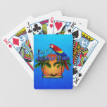 Island Time In Hammock Bicycle Poker Cards