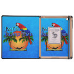 Island Time In Hammock Cases For iPad