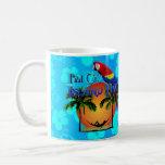 Island Time In Hammock Coffee Mug