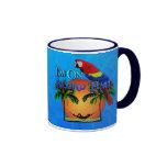 Island Time In Hammock Coffee Mugs