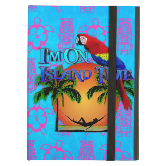Island Time In Hammock Cover For iPad Air