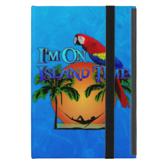 Island Time In Hammock Cover For iPad Mini