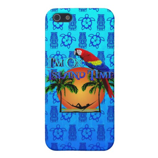 Island Time In Hammock Covers For iPhone 5