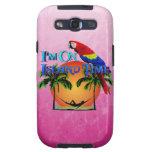 Island Time In Hammock Galaxy S3 Cover