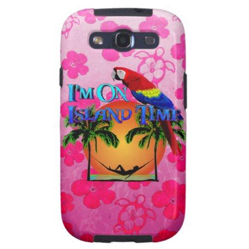 Island Time In Hammock Galaxy S3 Covers