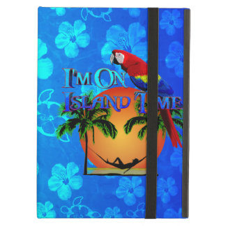 Island Time In Hammock iPad Air Cases