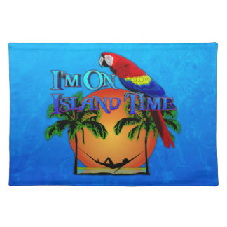 Island Time In Hammock Placemat
