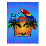 Island Time In Hammock Postcard