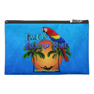 Island Time In Hammock Travel Accessory Bag