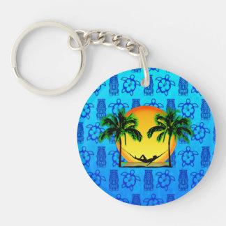 Island Time Key Chains
