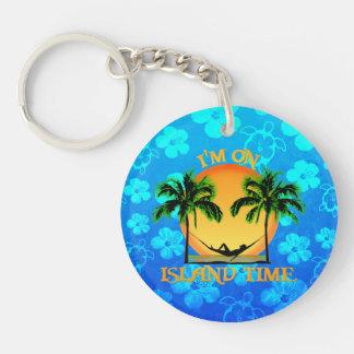 Island Time Acrylic Key Chains