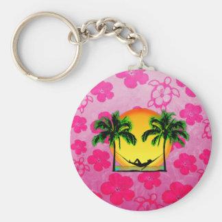 Island Time Key Chain