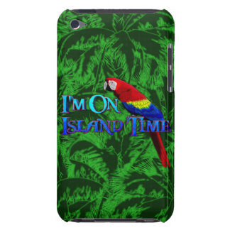Island Time Parrot Barely There iPod Cover