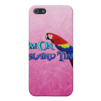 Island Time Parrot Case For iPhone SE/5/5s