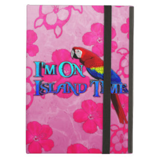 Island Time Parrot iPad Case