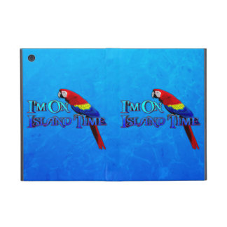 Island Time Parrot Cover For iPad Mini