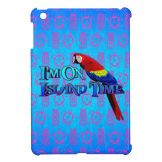 Island Time Parrot iPad Mini Case