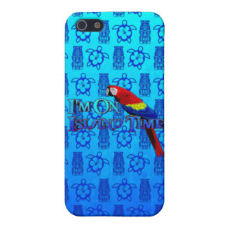 Island Time Parrot iPhone SE/5/5s Cover