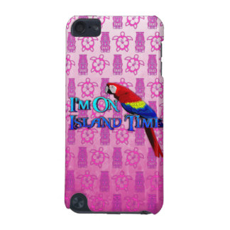 Island Time Parrot iPod Touch (5th Generation) Cover