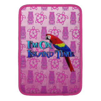 Island Time Parrot MacBook Air Sleeve