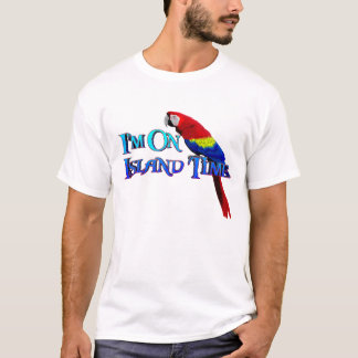 Island Time Parrot T-Shirt