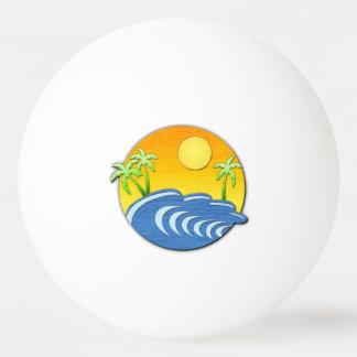 Island Time Ping-Pong Ball