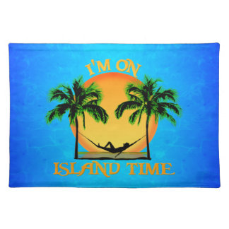 Island Time Place Mat