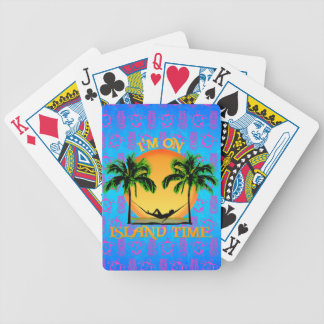 Island Time Bicycle Playing Cards
