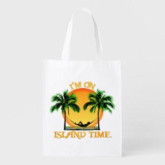 Island Time Reusable Grocery Bag