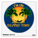 Island Time Room Decals