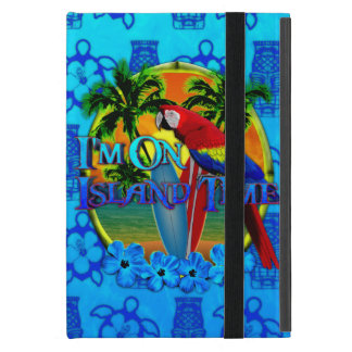 Island Time Sunset And Tikis iPad Mini Covers