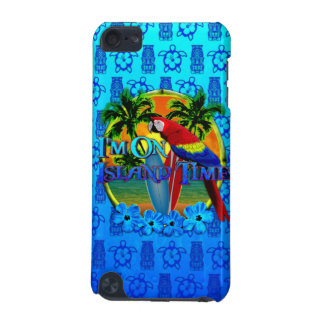 Island Time Sunset And Tikis iPod Touch (5th Generation) Cover