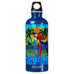 Island Time Sunset And Tikis SIGG Traveler 0.6L Water Bottle