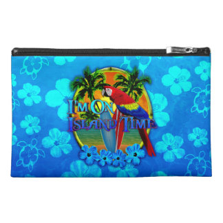 Island Time Sunset Travel Accessories Bags