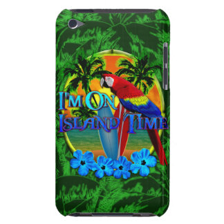 Island Time Sunset Barely There iPod Case