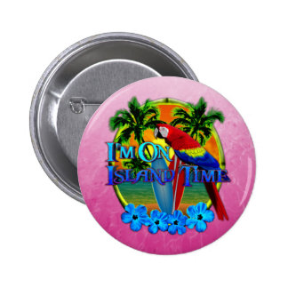 Island Time Sunset Button