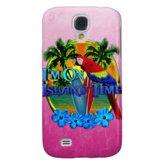 Island Time Sunset Galaxy S4 Cover