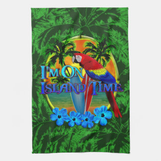 Island Time Sunset Hand Towel