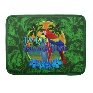 Island Time Sunset Sleeve For MacBook Pro