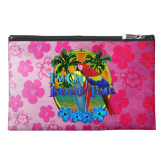 Island Time Sunset Travel Accessories Bag