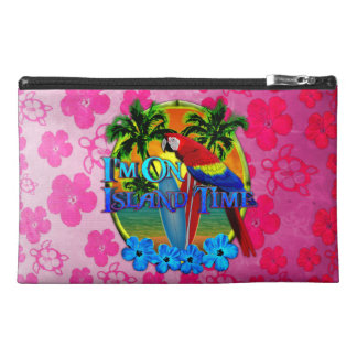 Island Time Sunset Travel Accessory Bags